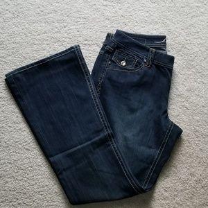 INC Curvy Fit Boot Cut Jeans